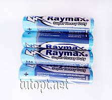 Батарейки Raymax R3/AAA 1.5V блистер - 4шт. упаковка - 60шт.