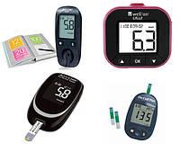 Глюкометры, тест-полоски, ланцеты, иглы для шприц-ручек