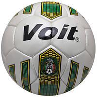 Мяч футбольный белый Voit