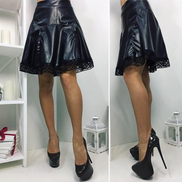 Стрейч юбка