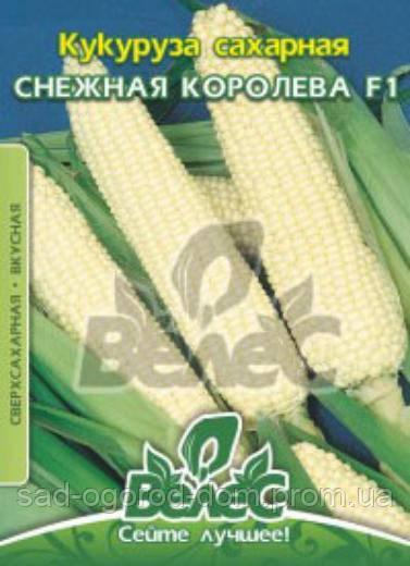 Кукуруза сахарная Снежная королева F1 15г