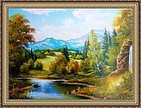 Картина Горный пейзаж 500х700мм. №402