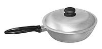 Сковорода с ровным дном ПРОЛИС СК-245 (245х122 мм), бакелитовая ручка