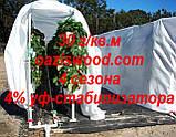 Агроволокно р-30g 1,6*500м AGREEN 4сезона белое Итальянское качество, фото 9