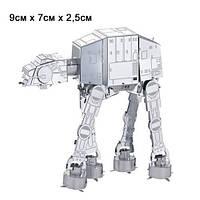 """Металлический 3D конструктор IMPERIAL WALKER из серии """"STAR WARS"""""""