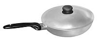 Сковорода с ровным дном ПРОЛИС СК-260 (260х123 мм), бакелитовая ручка