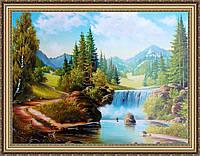 Картина Горный пейзаж 500х700мм. №357