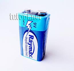 Батарейки Крона Raymax 9V 6F22 упаковка - 10шт.