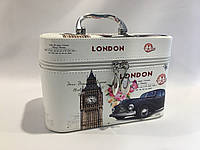 "Дорожная косметичка ""London"" средняя, фото 1"
