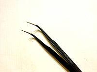 Пинцет для наращивания ресниц изогнутый PNC-10, YRE
