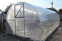 Теплица Эльдорадо 5х6 под поликарбонат 8 мм стандарт
