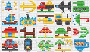Детская развивающая игра мозаика , фото 2
