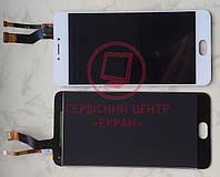 Meizu M3 Note M681H дисплей в зборі з тачскріном модуль білий