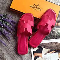 Женские шлепки кожа Кожаная обувь Летняя обувь Hermes Woman 35 размер 36 размер 37 размер