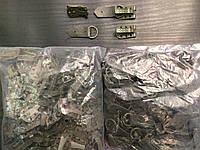 Крючек шубный, цвет хаки 100шт в упаковке (пр-во Турция)