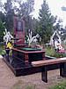 Памятник из красного гранита ОД - 015