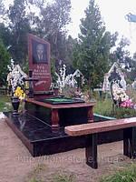 Памятник из красного гранита ОД - 015, фото 1