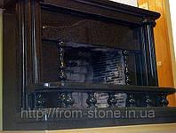 Облицовка камина гранитом 002