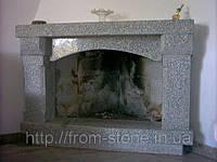 Облицовка камина натуральным камнем 003