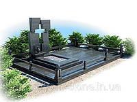 Надгробный комплекс с вырезанным крестом К - 008