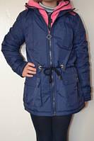 Куртка-парка для девочки р.134-146 (арт.568)