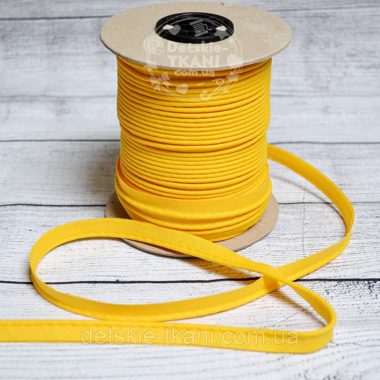 Кант из хлопка, цвет желтый