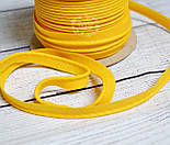 Кант из хлопка, цвет желтый, фото 2