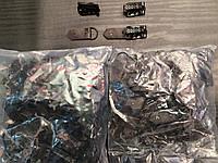 Крючек шубный, цвет т-коричневый 100шт в упаковке (пр-во Турция)