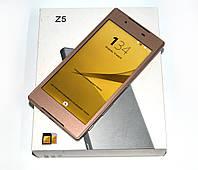 Новый телефон Sony Z5 - 4 ядра, 8 Мп, 2 SIM, Android! стекло в подарок (копия)