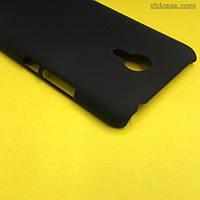 Чехол пластиковый для Meizu M2 Note (чёрный)
