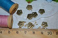 Металлический декор Hand made бронза