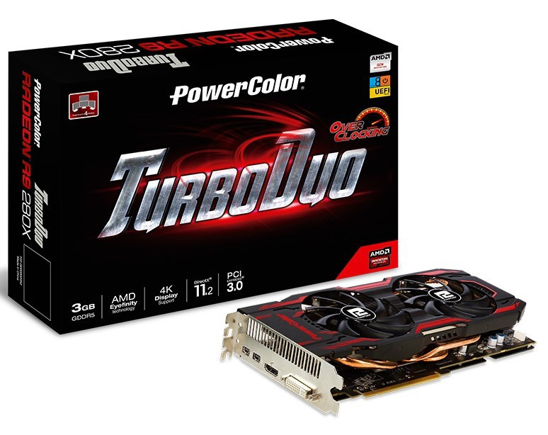 "Видеокарта PowerColor Radeon R9 280X 3GB GDDR5 384bit ""Over-Stock"" Б/У"