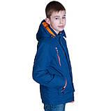 Підліткова демісезонна куртка, кольору електрик, фото 2