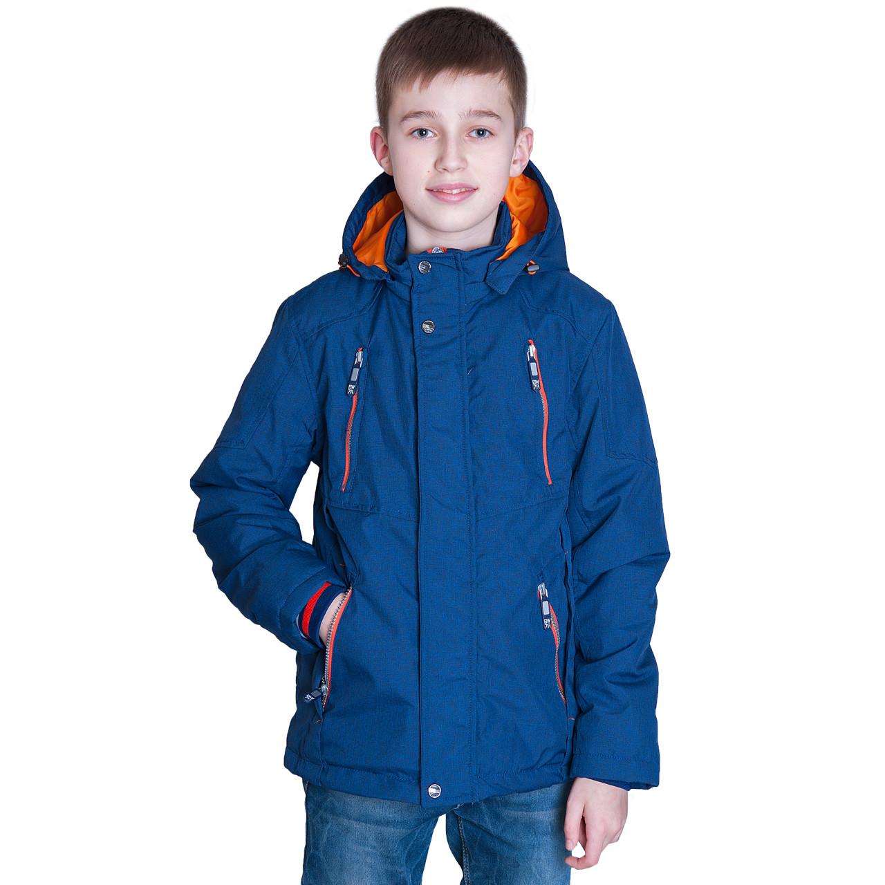 Підліткова демісезонна куртка, кольору електрик