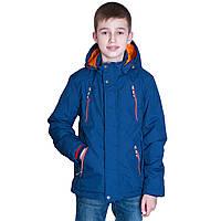 Демисезонная куртка (подростковая) Black Wolf. Цвет электрик. Код 180