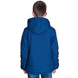 Підліткова демісезонна куртка, кольору електрик, фото 3