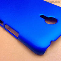 Чехол пластиковый для Meizu M2 Note (синий)