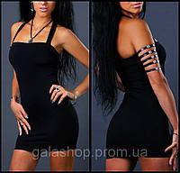 Мини платье, клубная сексуальная одежда для смелых девушек. Разные цвета. Размеры 42 - 52.