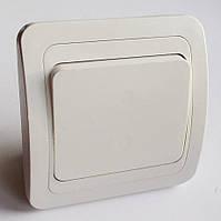 Выключатель 1-й типа Makel  белый