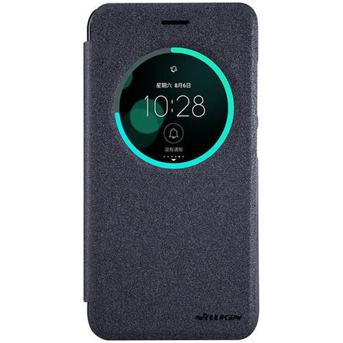 Чехол-книжка Nillkin Sparkle Black для Asus Zenfone 3 ZE520KL