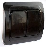 Выключатель 2-й типа Makel черный