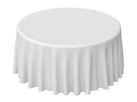 Скатерти Ø3,20 на стол Ø180 до пола из ткани Хлопок/ПЭ, фото 2