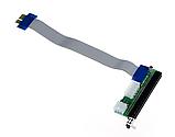 Райзер Riser PCI-E 1x to 16x с разъемами питания, фото 2