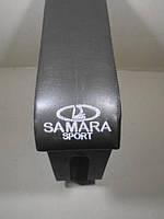 Подлокотник ВАЗ 2108-099 черный с вышивкой Maxi