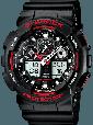 Мужские Наручные Электронные Часы в стиле Casio G-Shock GA 100, фото 3