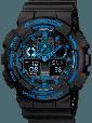 Мужские Наручные Электронные Часы в стиле Casio G-Shock GA 100, фото 4