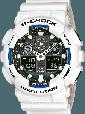Мужские Наручные Электронные Часы в стиле Casio G-Shock GA 100, фото 7