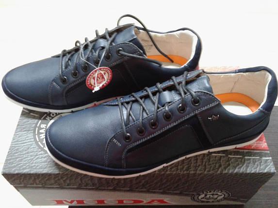 НОВВИНКА! Стильные молодежные туфли  из натуральной  кожи МИДА 11378, фото 2