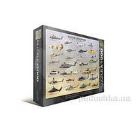 Пазл Военные вертолеты 1000 элементов Eurographics 6000-0088