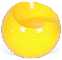 Пуф пластиковый Рензо желтый дизайн Фина Стоуна